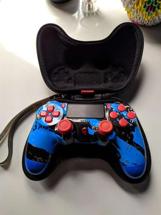 Ps4 Dualshock 4 con Chip Rapid Fire