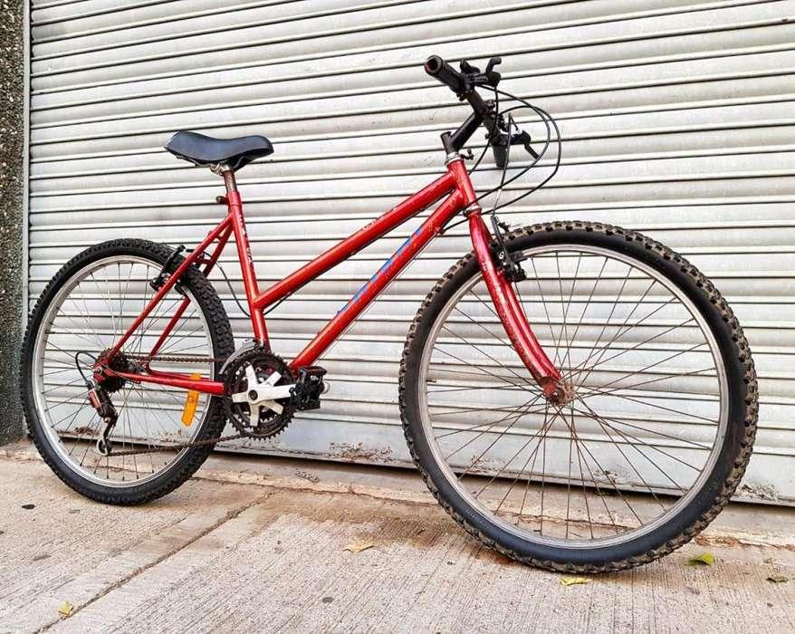 Mountain Bike Hishi Rodado 26 15 Cambios Buen Estado.