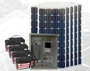 PLANTA ENERGÍA SOLAR 1500Wp PS1500-24M1200-1500P