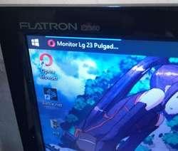 Monitor LED LG FLATRON 23 pulgadas
