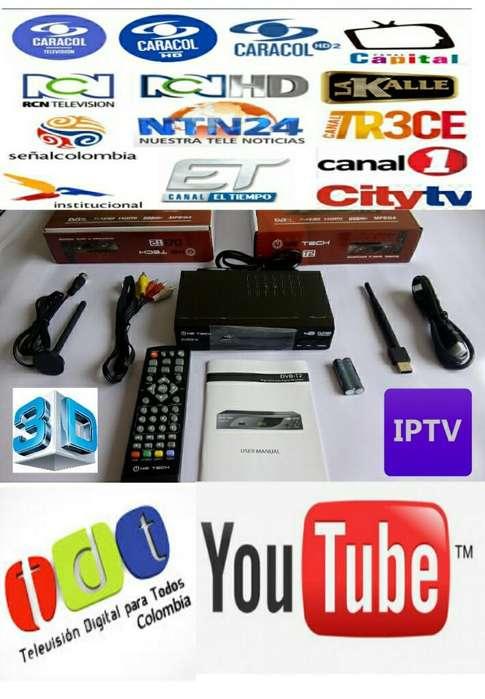 Decodificador Tdt con Iptv Y Youtube