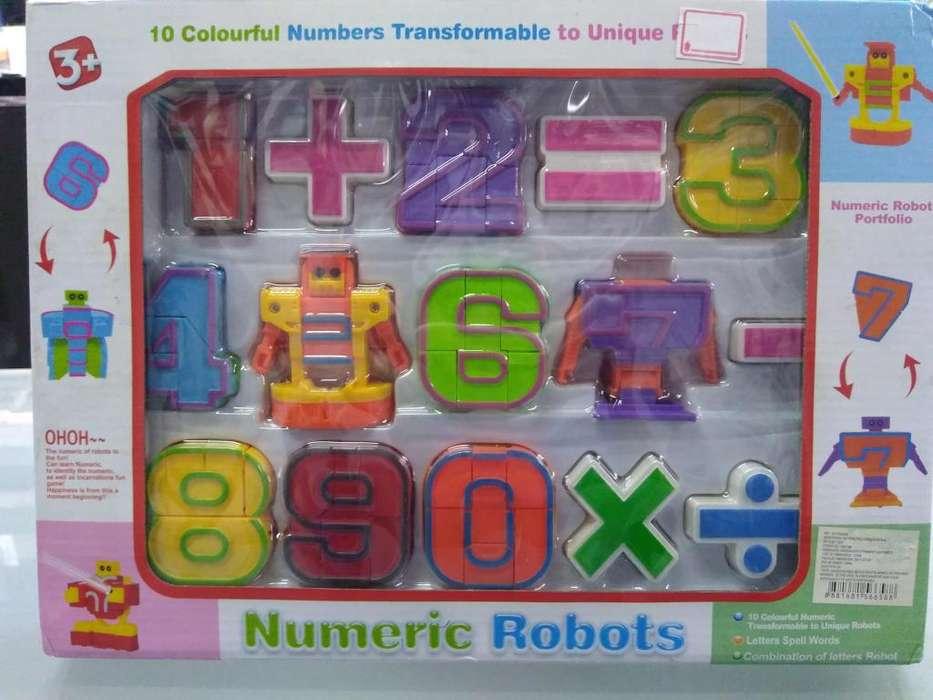 ROBOTS NUMERICOS