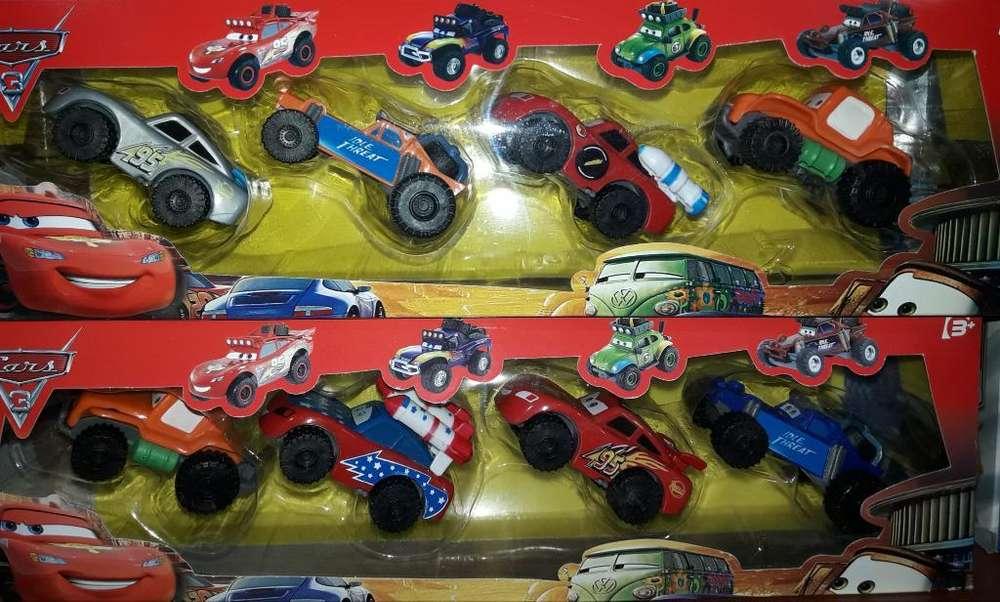 Lote de 6 Autos Importados The Cars