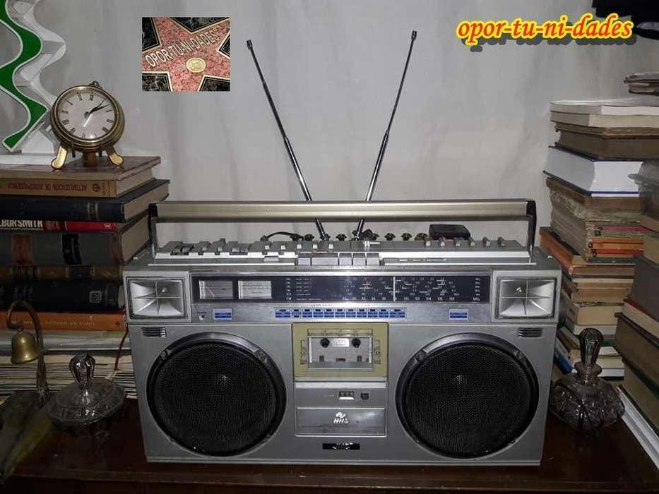 Radiograbador JVC Multi Music Scanner RC-M70JW 6 bandas Japones