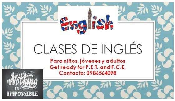 CLASES PROFESIONALES DE INGLES A DOMICILIO