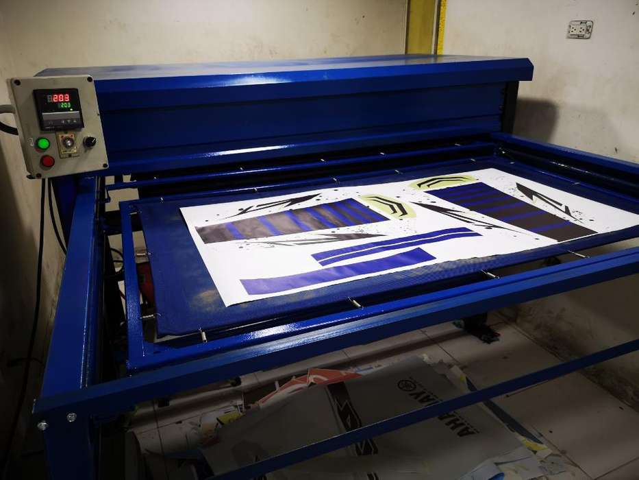 Termofijadora Sublimadora de 120x70cms