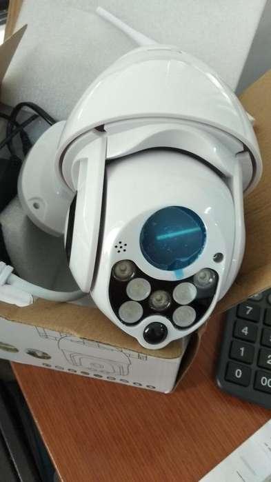 Camara IP HD Robotica uso Exterior o Interior