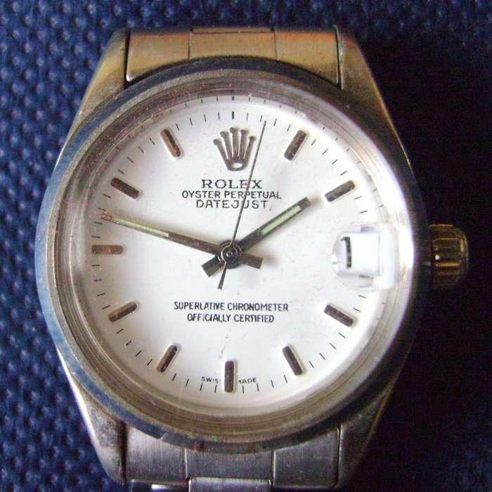 Reloj tipo <strong>rolex</strong> pulsera a pila malla metálica / Maxim Nord