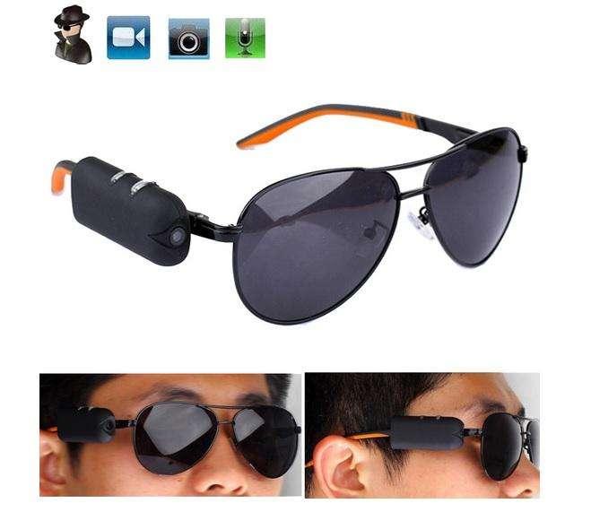 Cámara de video para adaptar a gafas, incluye gafas