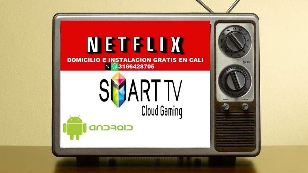 CAJA ANDROID 2 RAM CON 16 GB DE MEMORIA INSTALACION Y DOMICILIO GRATIS EN CALI TV BOX CONVIERTE TU TV COMÚN EN SMART TV