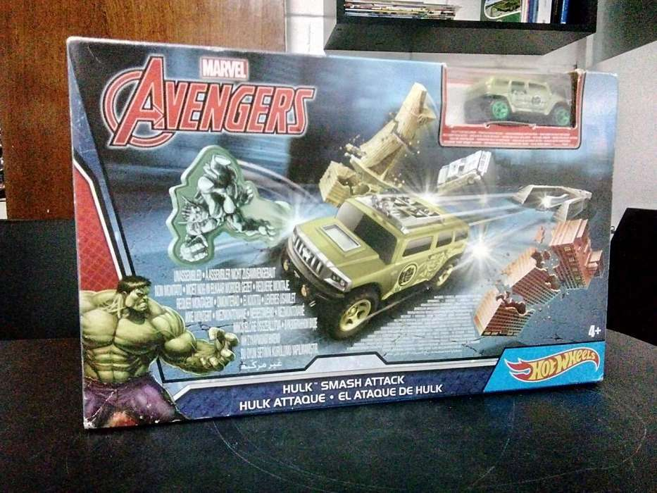 Hotwheels Hulk Smash Attack