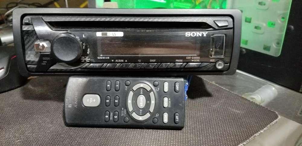 Estéreo Sony Usb-aux-control Remoto