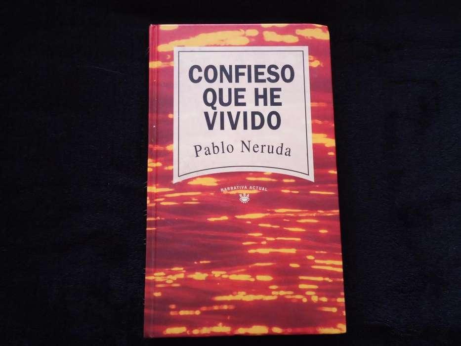 Libro Confieso Que He Vivido Autor Pablo Neruda Libro Original Poesía