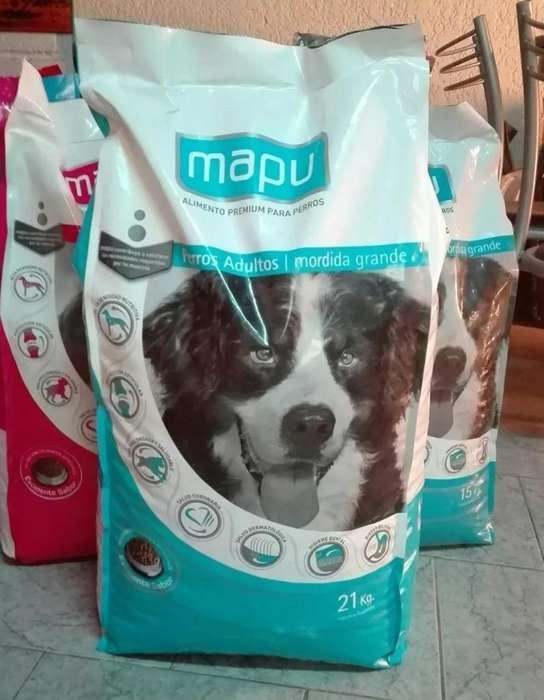 Mapu Adulto 21 kg /Cachorro 15 kg