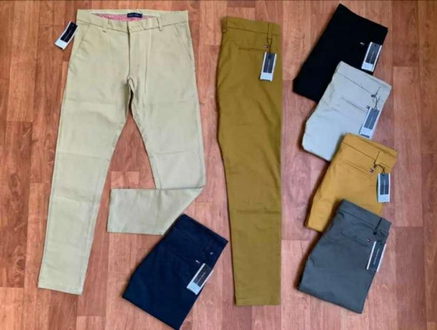 Pantalones De Drill Para Hombre Ropa 1107930587