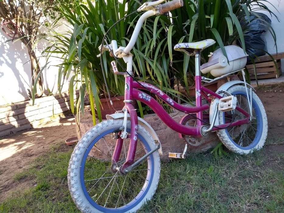 Bicicleta Fucsia para Niña