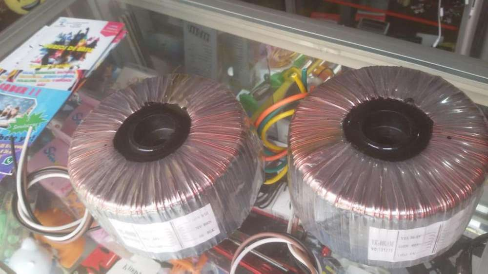 Transformadores De Linea Yamaki Yk-400am, 400w Precio Por 2