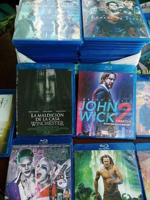 Regalo Lote 60 Películas Blu-ray