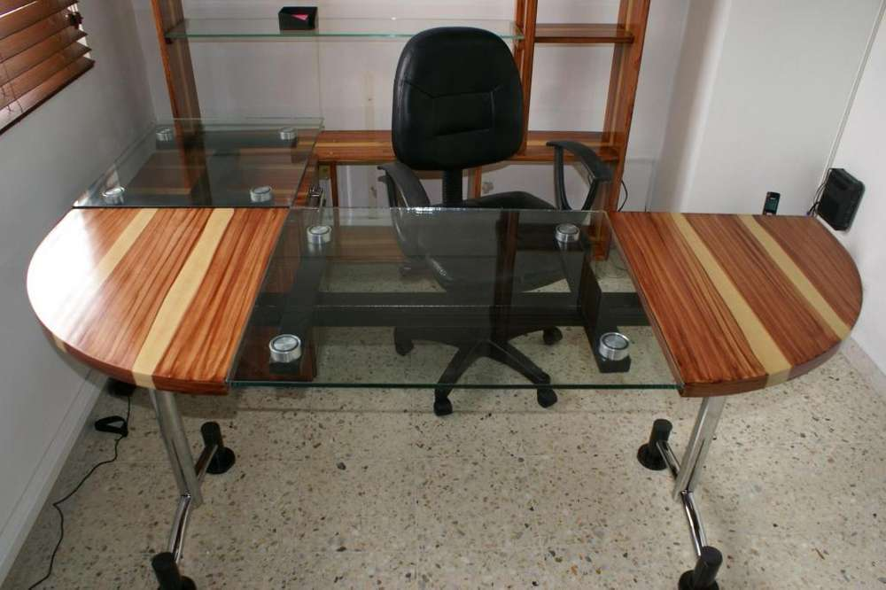 Escritorios de vidrio para oficinas
