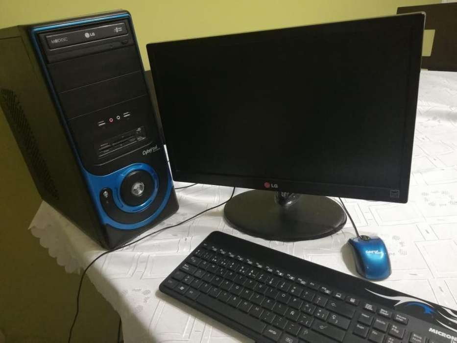 REMATO PC COMPLETA CORE I7 RAM 8GB DISCO 1TB <strong>monitor</strong> 19