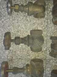 Antiguas Llaves de Paso Bronce Lote X 6
