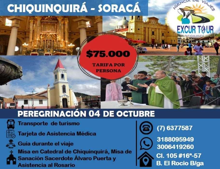 Chiquinquirá Soracá Salida de Bucaramang