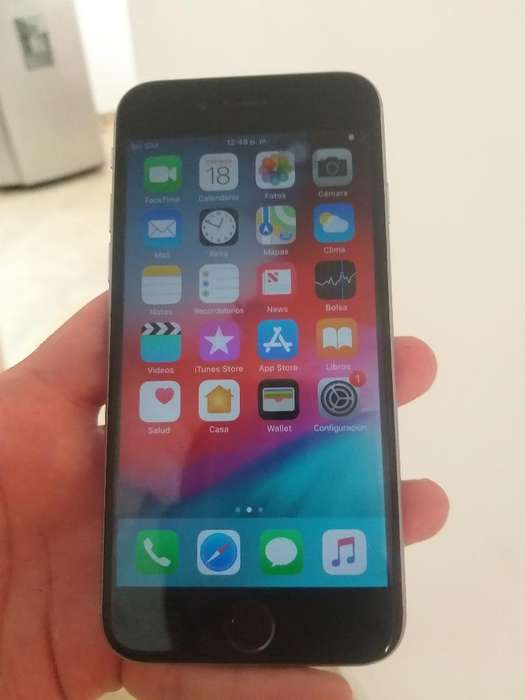 iPhone 6s Huella Mala 16gb Como Nuevo