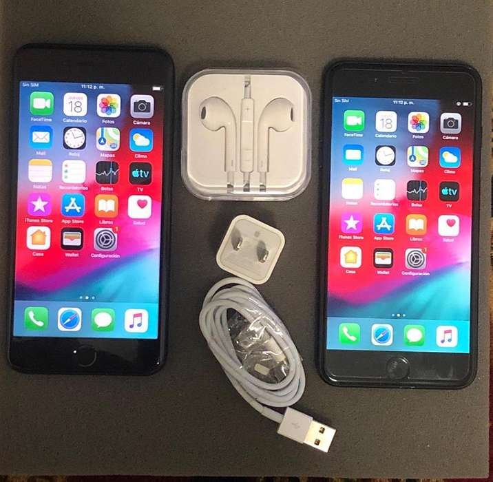 IPHONES 7 PLUS DE 32GB O 128GB NEGRO BRILLANTE NITIDO
