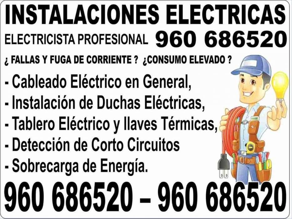 TÉCNICO ELECTRICISTA Amplia experiencia Cel: 960 686520