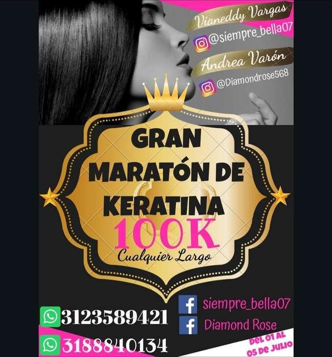 2do Gran Maratón de Keratina