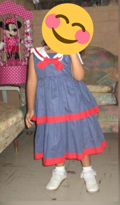 Vestido Marinero Talla 4