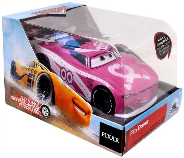 Cars Flip Dover Disney Exclusivo tirador 'n' Race DieCast