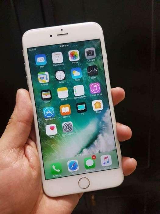 iPhone 6 Plus Blanco 64 Gb Buen Precio