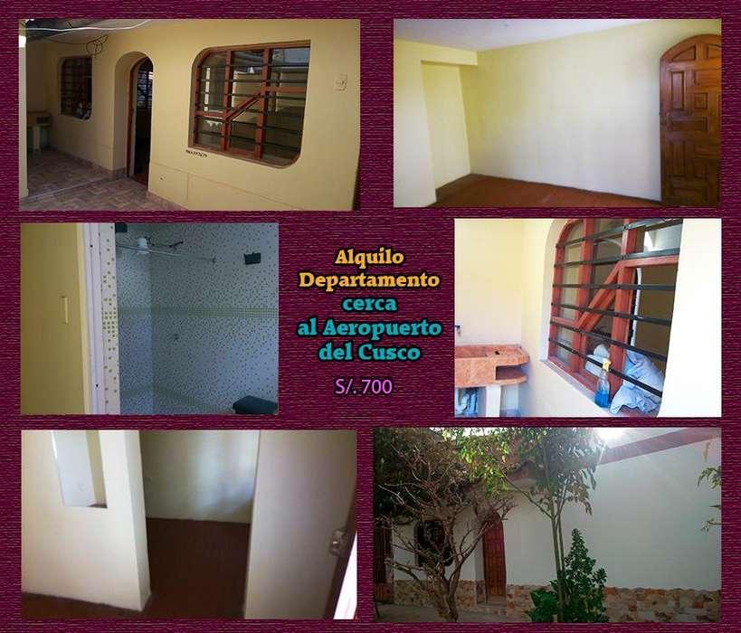 Alquilo departamento en Cusco 700 soles