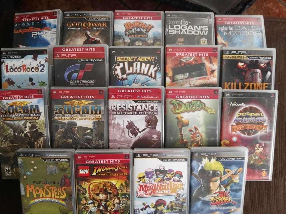 Juegos PSP lote de 19 juegos