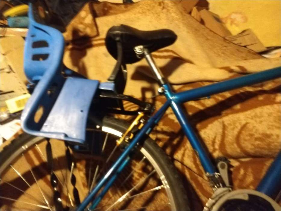 Montanbike Rodado 26 con Portaequipaje Y