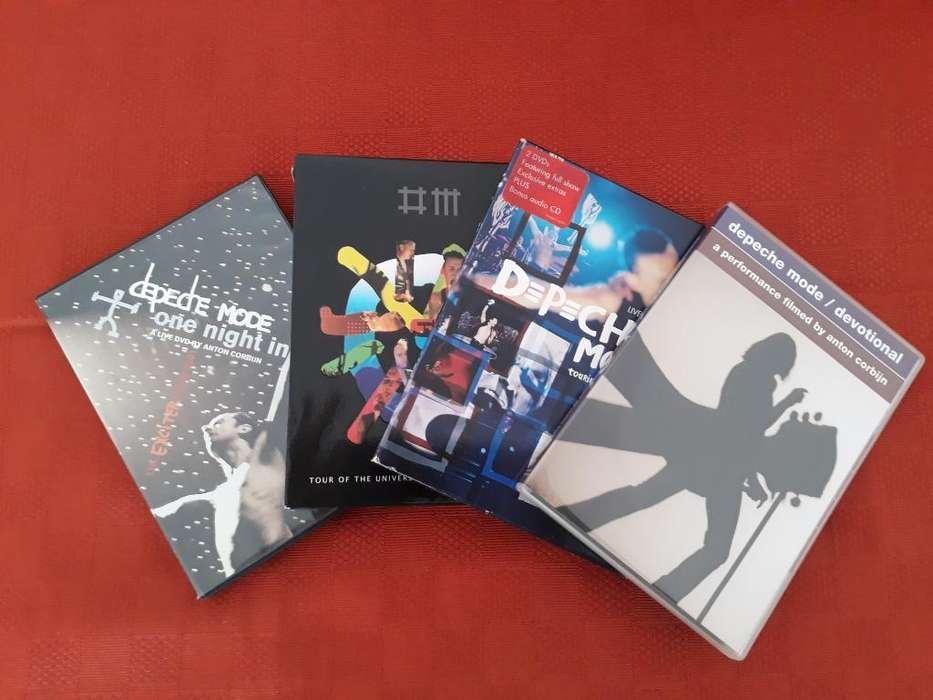 Depeche Mode (dvds Originales)