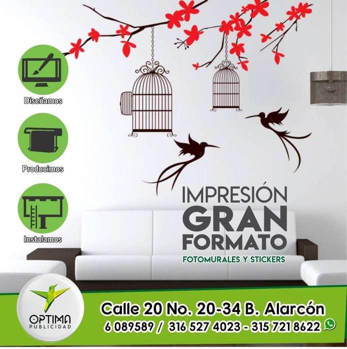 Óptima Publicidad Bga CENTRO DE IMPRESIÓN GRAN FORMATO