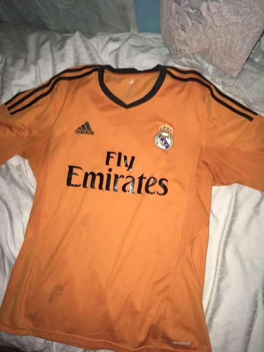 Remera Real Madrid Talle L Original
