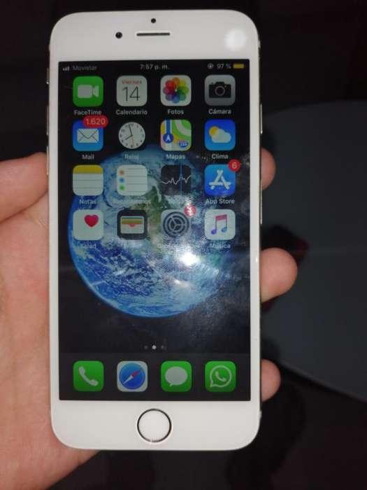 iPhone 6 Libre con Botón Exelente