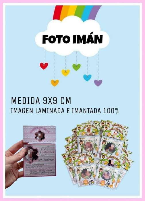 Foto Iman 9x9 Cm