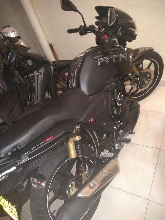 Vendo Moto Apache Rtr 180