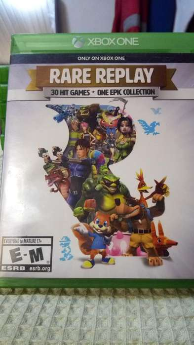 Xbox One Rare Play 30 Juegos Un Solo