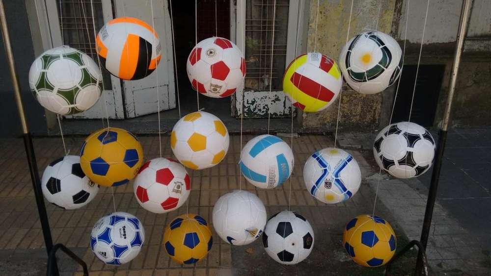 Lote de Pelotas de Futbol Bolley Y Papi