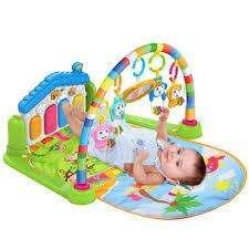 Divertido Gimnasio Infantil Musical Con Piano Para Bebes