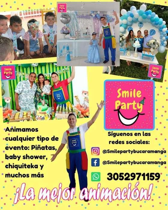 Animador Fiestas Babyshower Animacion