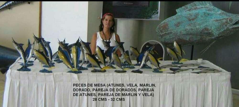 Peces de <strong>mesa</strong> Trofeo 0.30 hasta 0.50 Mt