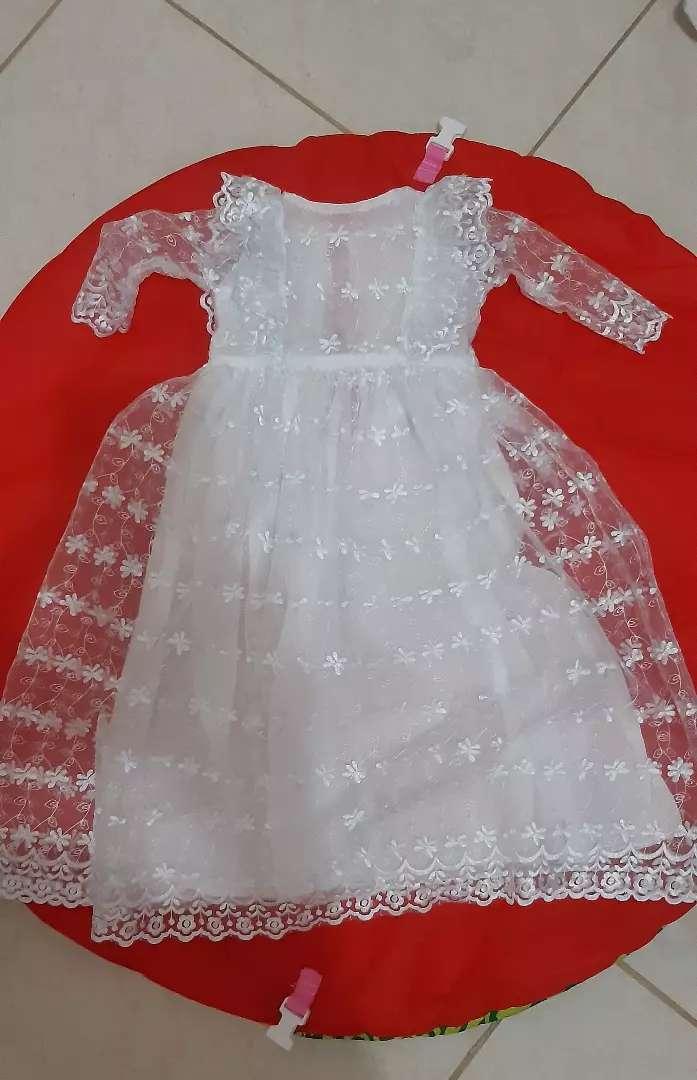Vestido Para Bautizo Niña Ropa 1100321798