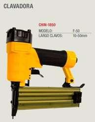 Clavadora Neumatica China F50 Clavo Tipin 10 a 50mm NUEVA!! GARANTIA Y REPUESTOS