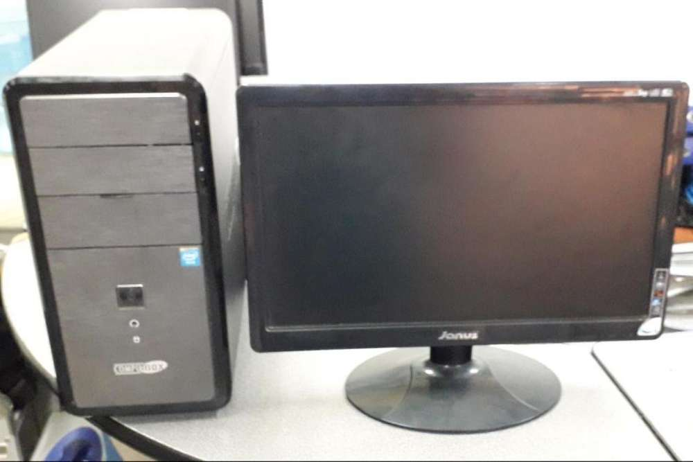 PC CORE I5 - DISCO 1 TERA - MEMORIA 4GB - MONITOR 19